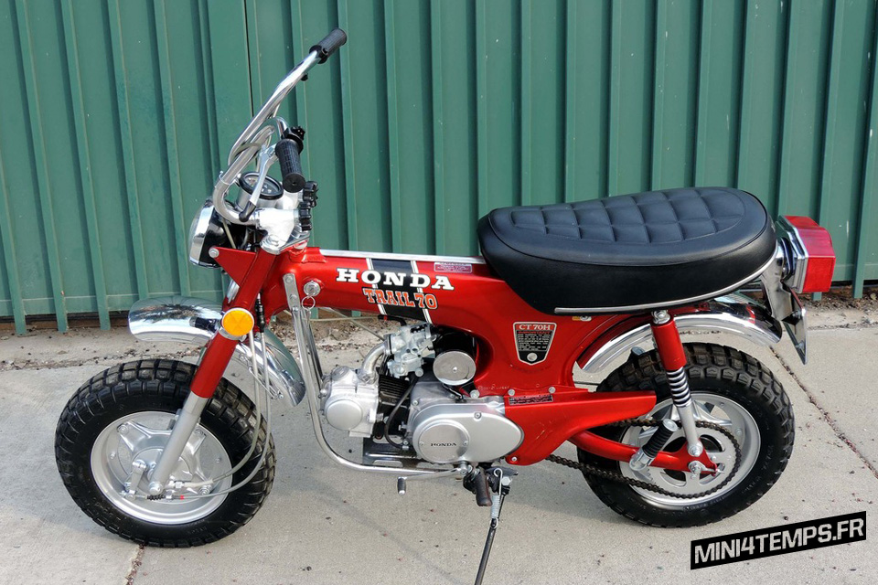 Honda Dax CT70 Trail 70 1972 - mini4temps.fr