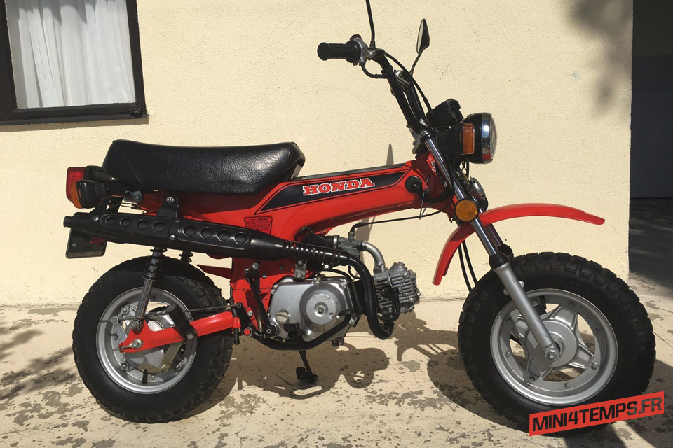 Le Honda Dax CT70 Mini Trail de Penny - mini4temps.fr