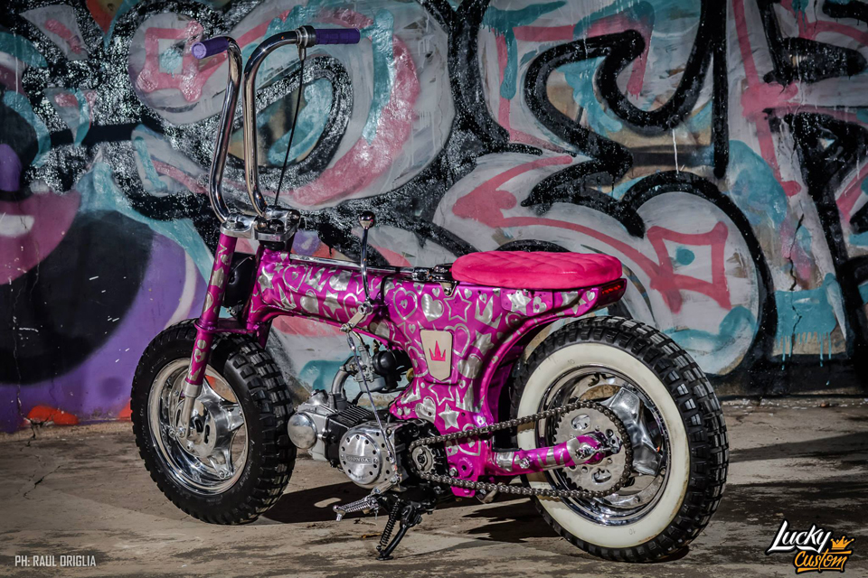 "Honda Dax Proj#29 ""Flynn Paff"" by Lucky Custom - mini4temps.fr"