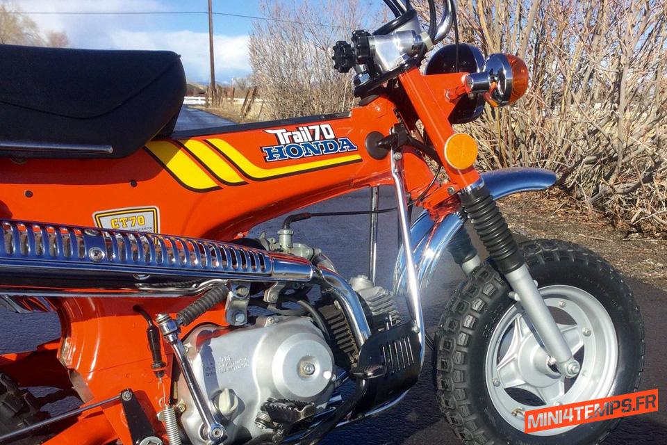 Le Honda Dax CT70 Trail de Reno - mini4temps.fr