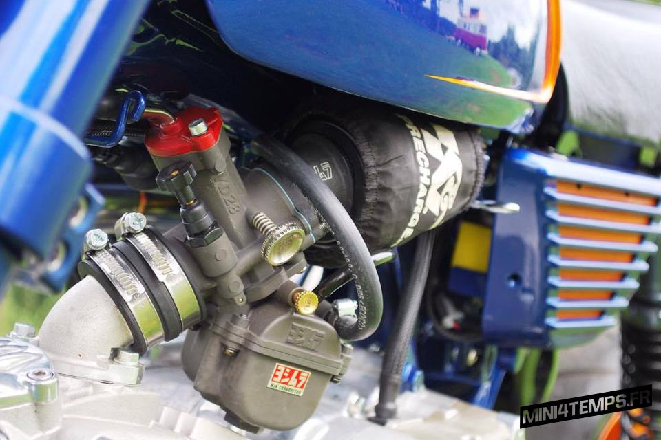 Le Honda Monkey J1 d'Enrico - mini4temps.fr