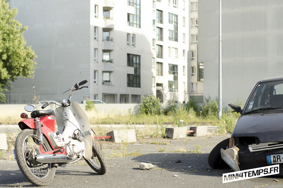 Le Honda Cub de *LuckyBoy39* - mini4temps.fr