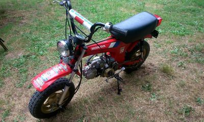 Honda Dax CT70 de 1986 - mini4temps.fr