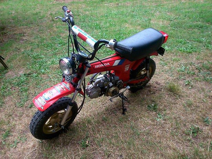 Honda Dax CT70 de 1986 - mini4temps.fr