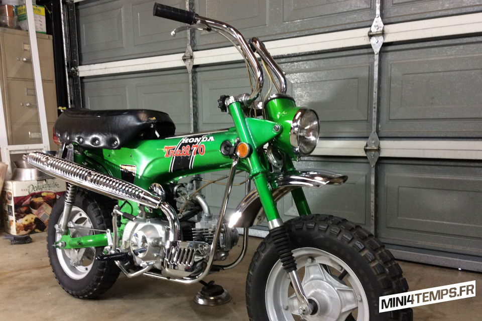 Honda Dax CT70 US Emerald Green - mini4temps.fr