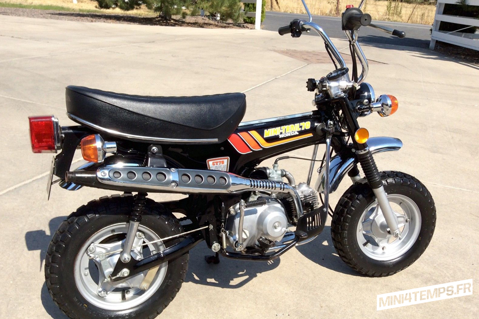 Honda Trail 70 CT70 1978 - mini4temps.fr