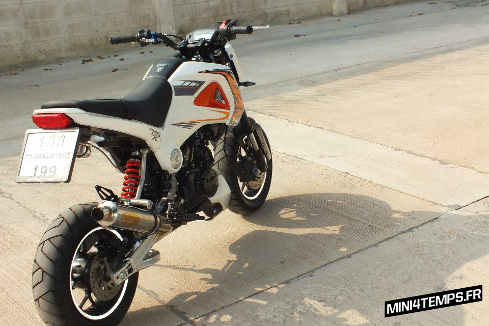 Awesome Honda MSX 125 by Petex - mini4temps.fr