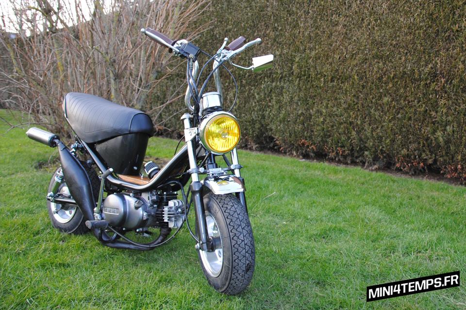 Yamaha Chappy avec moteur Bop - mini4temps.fr
