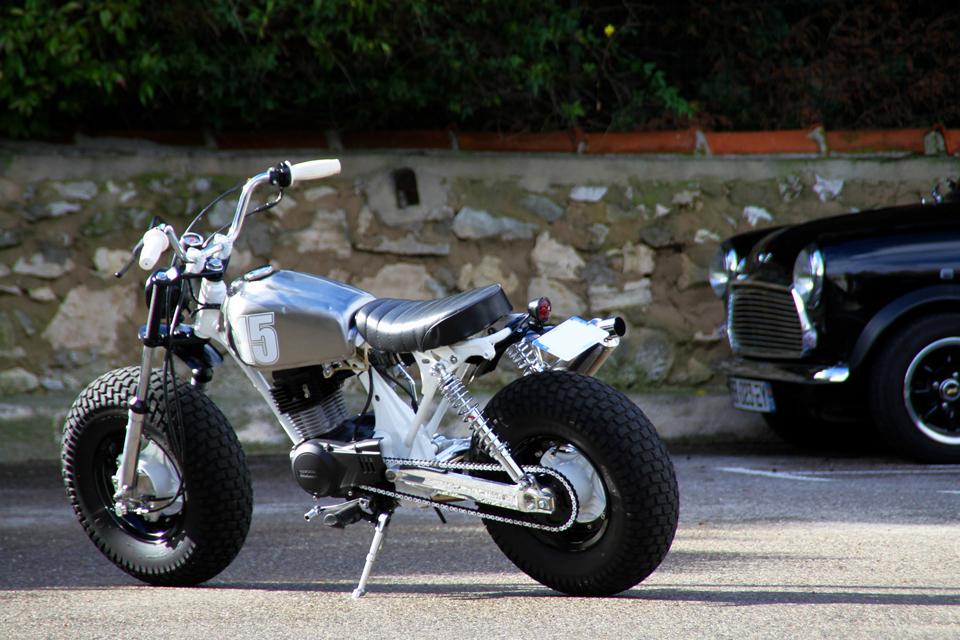 Honda CY80 custom de John - mini4temps.fr