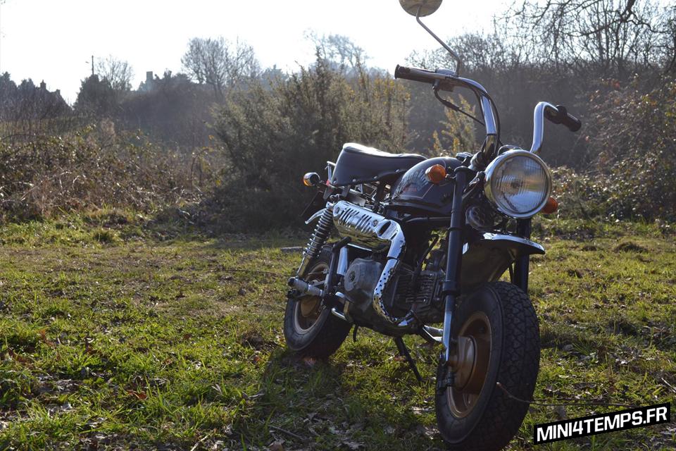Honda Monkey Z50JB 6V - mini4temps.fr
