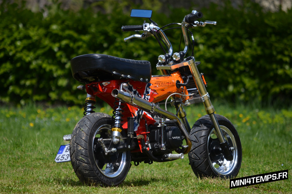 Le Dax General Lee de Duke Motorcycles - mini4temps.fr
