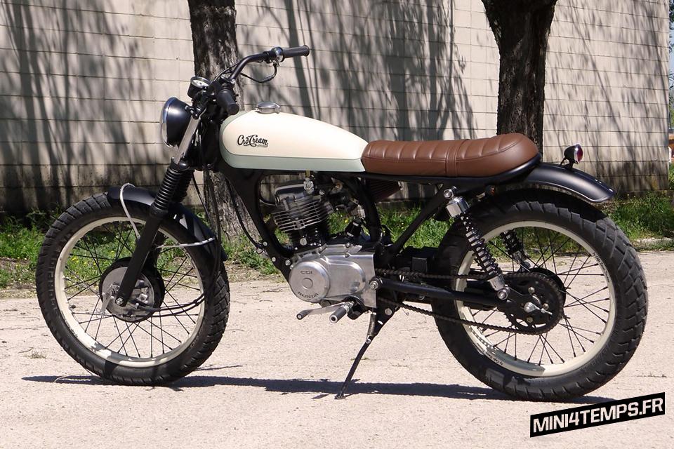 "Honda CG 125 ""Petite Deli"" by CRD"