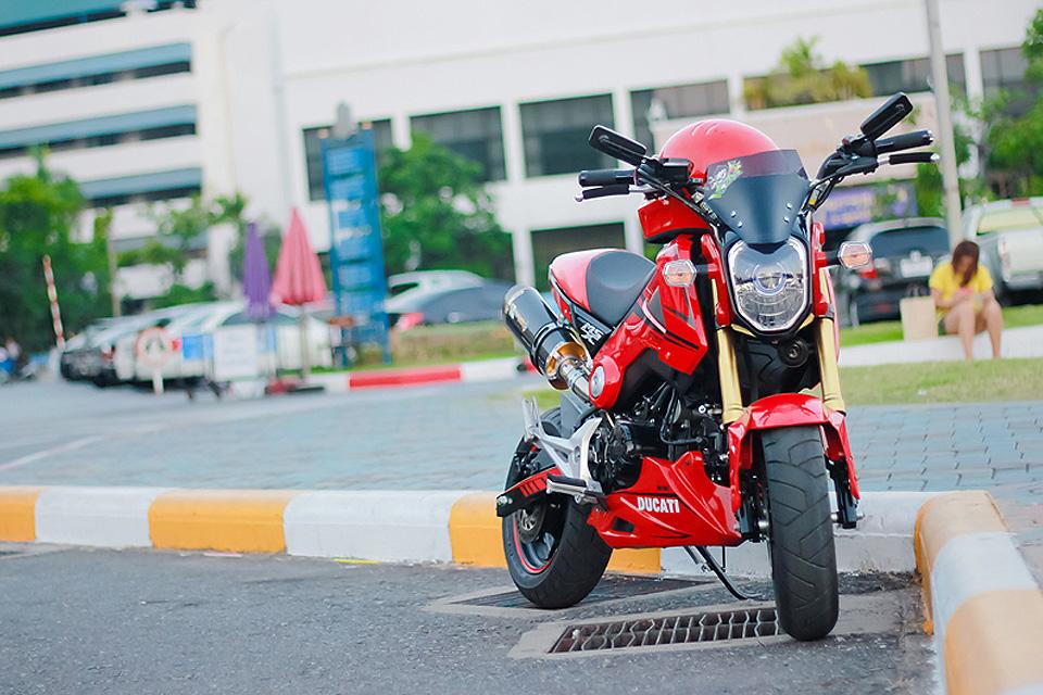 Honda MSX 125 Ducati Thaï - mini4temps.fr