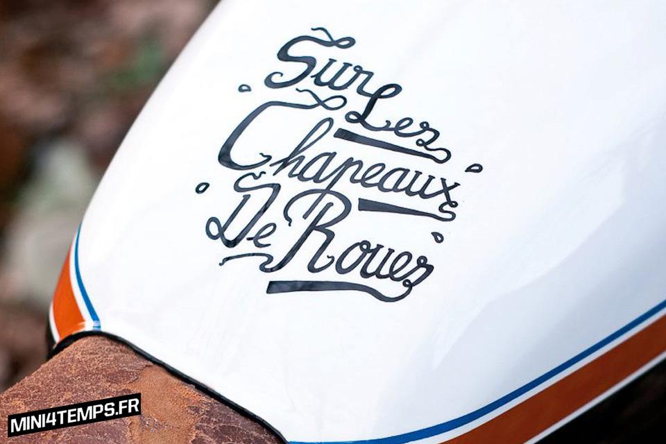 Honda CB125 de Sur Les Chapeaux de Roues - mini4temps.fr