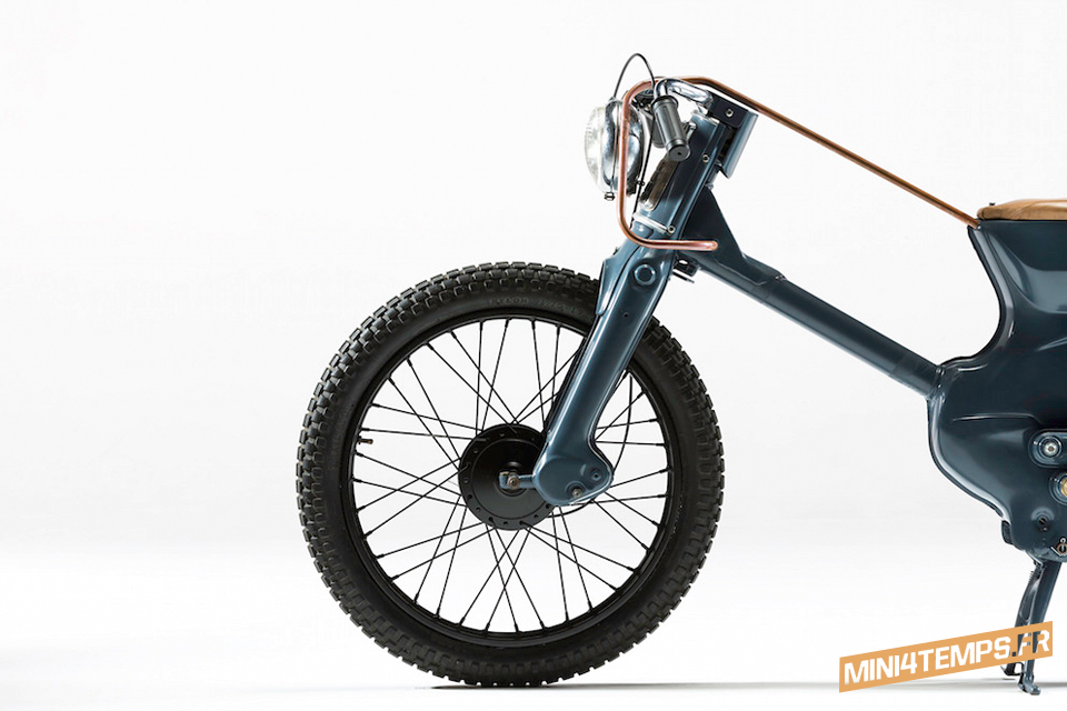 Deus Electric, le Honda Cub revisité - Honda Cub C90 mini4temps.fr