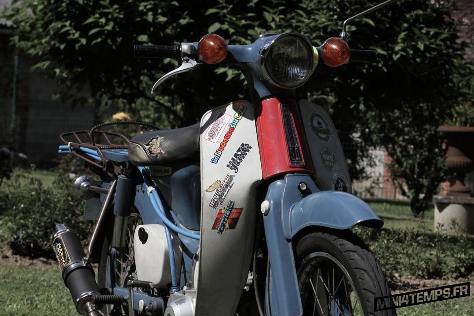 Honda Cub C50 1971 - mini4temps.fr