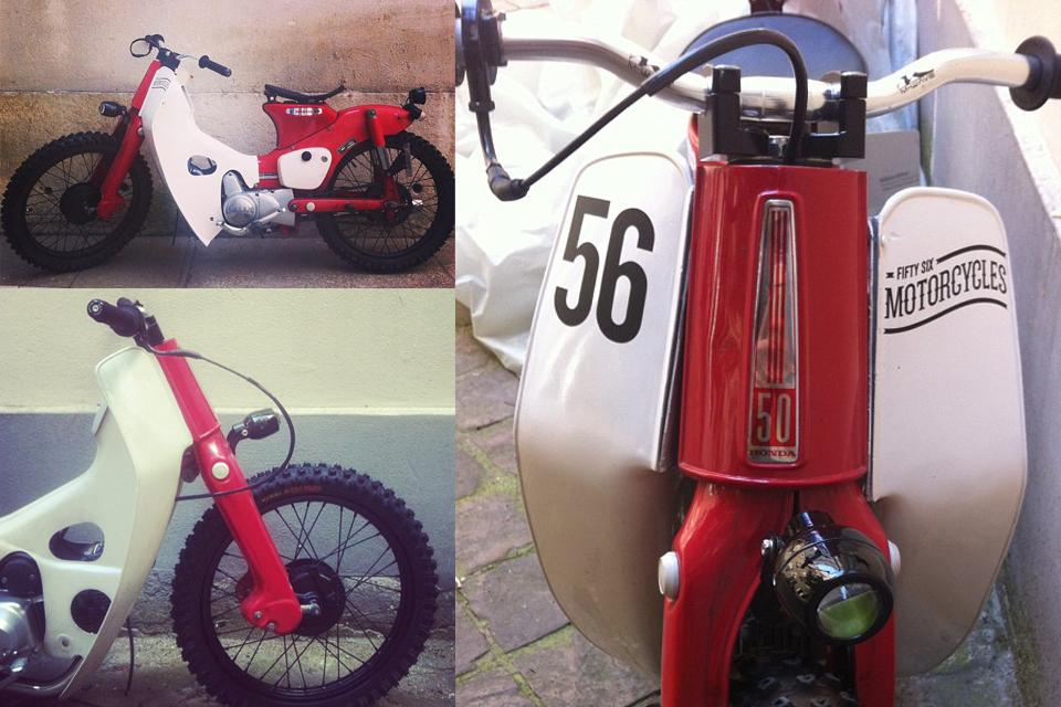 Honda Cub C50M de 56 Motorcycles - mini4temps.fr