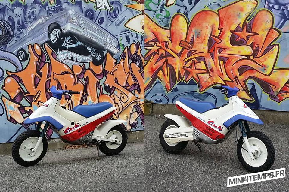 Honda Cub EZ 90cc 1991 - mini4temps.fr
