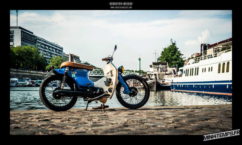 Honda StreetCub Made in France - mini4temps.fr