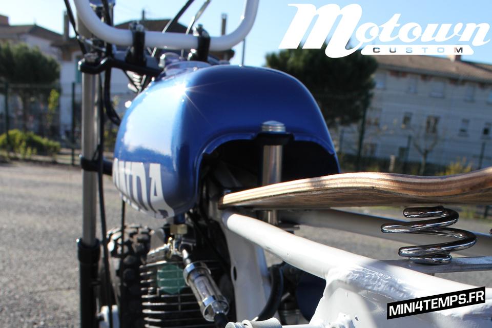 Honda CY80 customisé par Motown Custom - mini4temps.fr