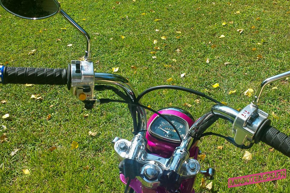 Pink '75 Honda Dax - mini4temps.fr