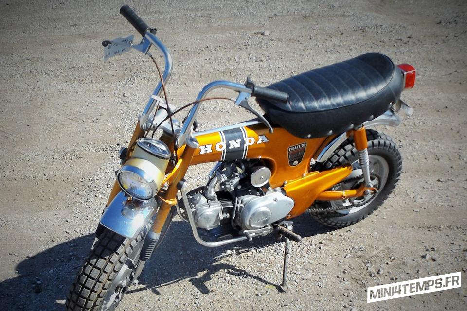 Le Honda CT70 de Vintage Spoke - mini4temps.fr