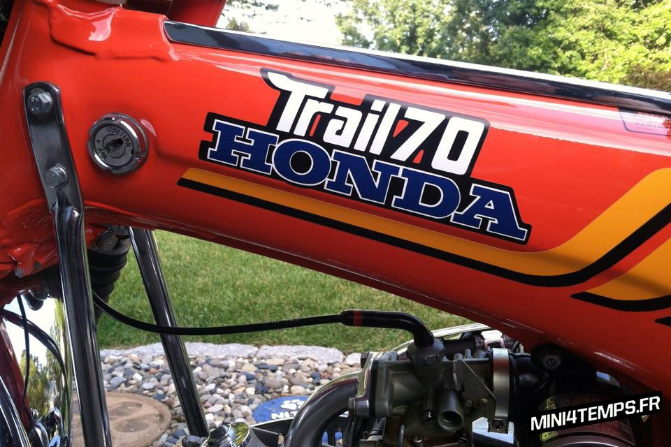 Honda Dax CT70 et ST70 - mini4temps.fr