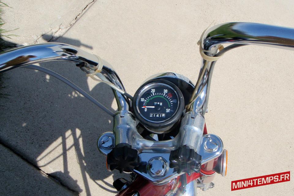 Le Honda Dax CT70 K1 de Moto Flashback - mini4temps.fr