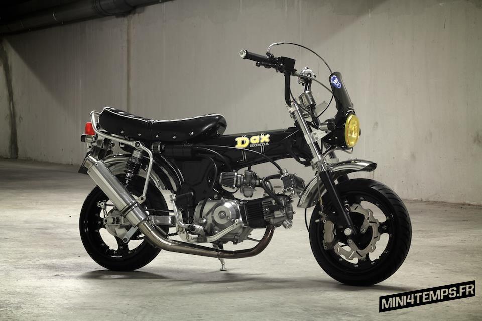 Honda Dax Noir 1992 Takegawa G-Craft - mini4temps.fr