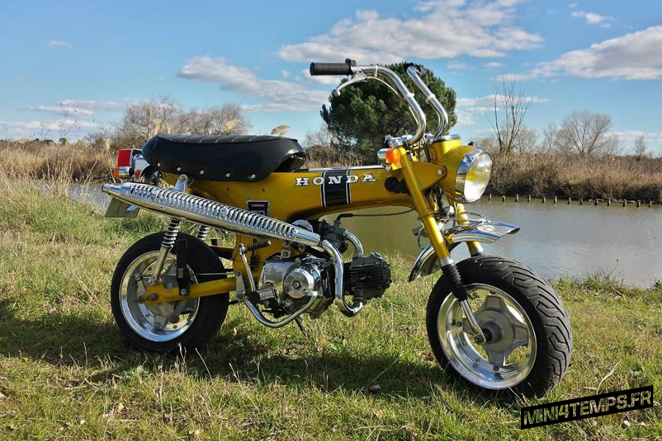 Honda Dax ST70 Gold - mini4temps.fr