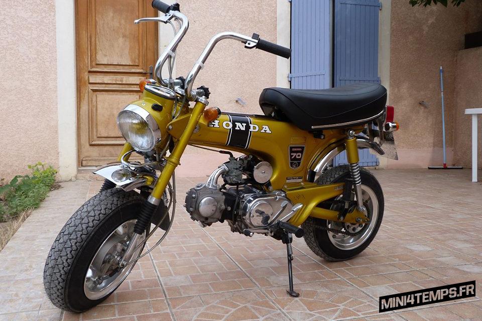 Honda Dax ST70 Gold - mini4temps.fr
