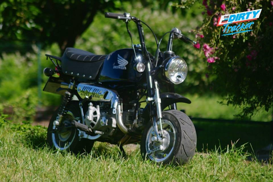 Honda Gorilla en pneus 8 pouces - mini4temps.fr