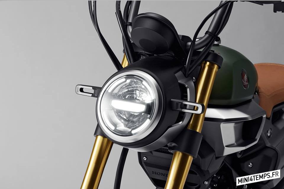 Honda Grom 50 Scrambler Tokyo Motor Show - mini4temps.fr
