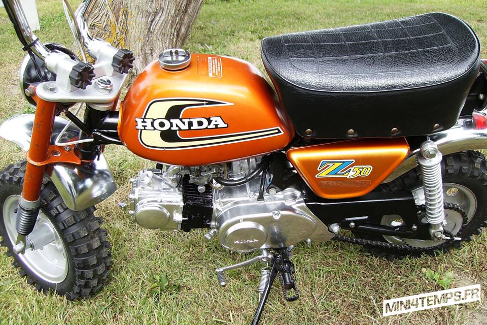 Honda Monkey Z50A 1974, Honda Mini Trail USA - mini4temps.fr
