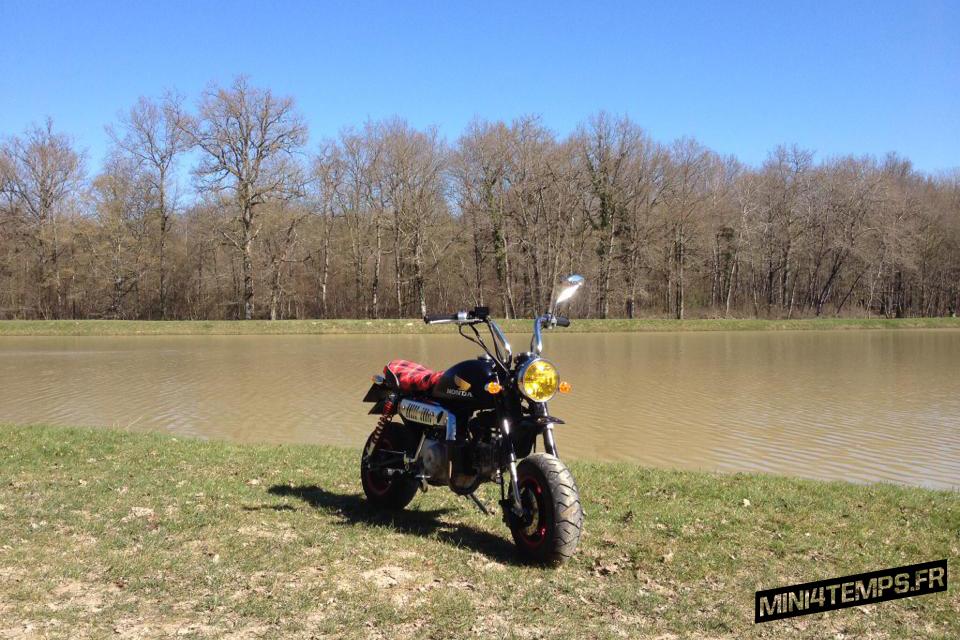 Le Honda Monkey de Dan - mini4temps.fr