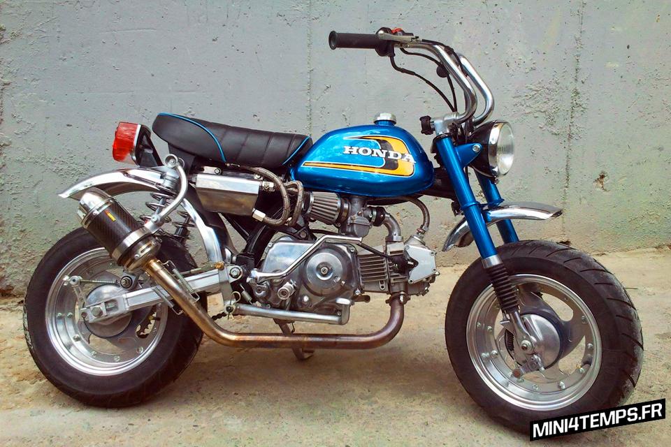 Le Honda Monkey J1 - mini4temps.fr