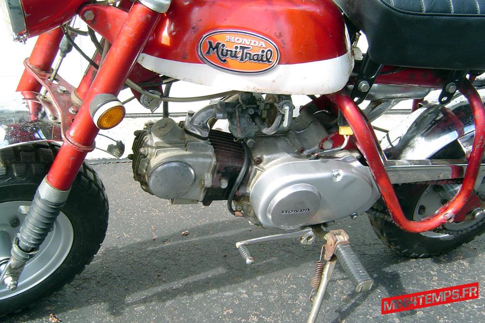 Le Honda Monkey Z50A 50 K2 de David - mini4temps.fr