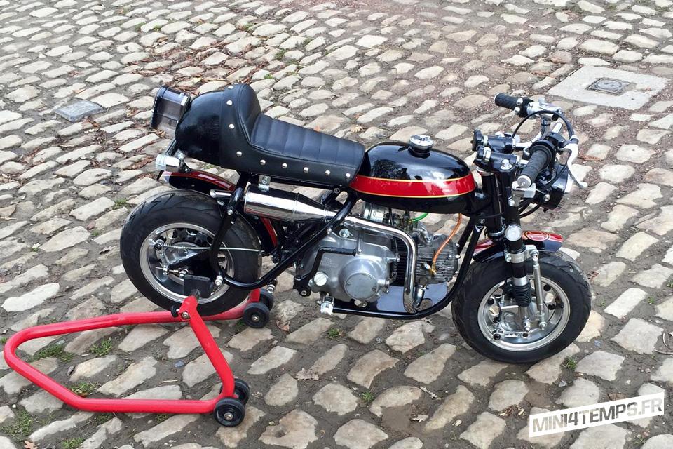 Honda Monkey Z50A Café Racer - mini4temps.fr