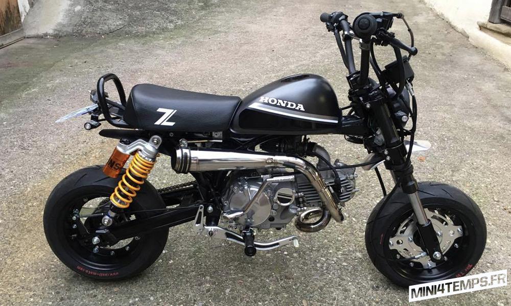 Honda Monkey avec moteur Daytona 150 - mini4temps.fr