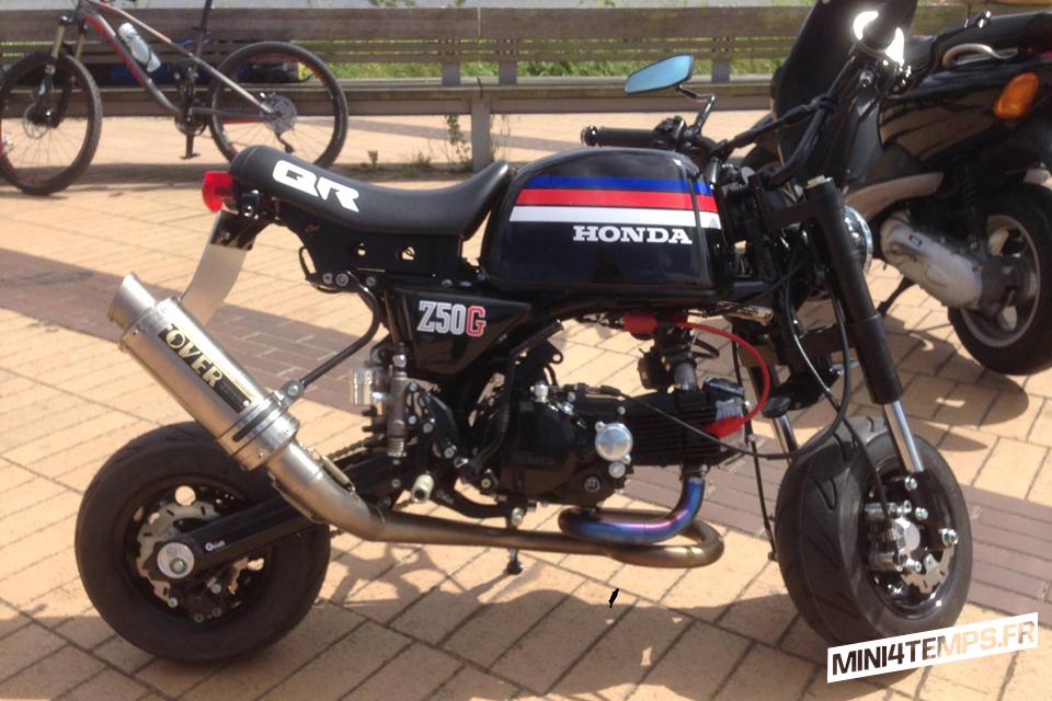Le Honda Gorilla Z50G de Ralf - mini4temps.fr