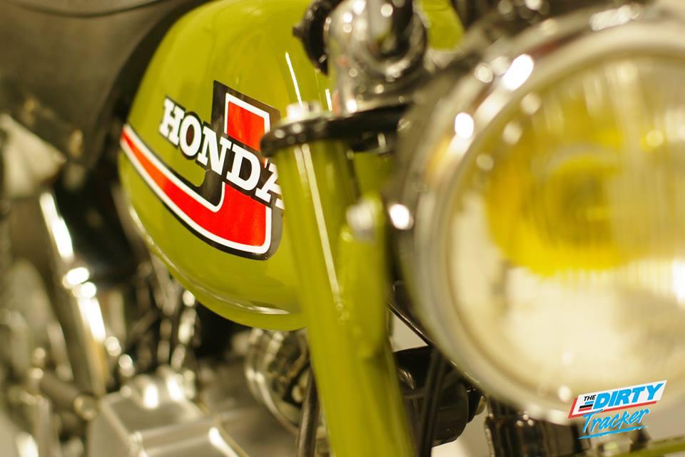 Honda Monkey J1 Dirty Tracker - mini4temps.fr