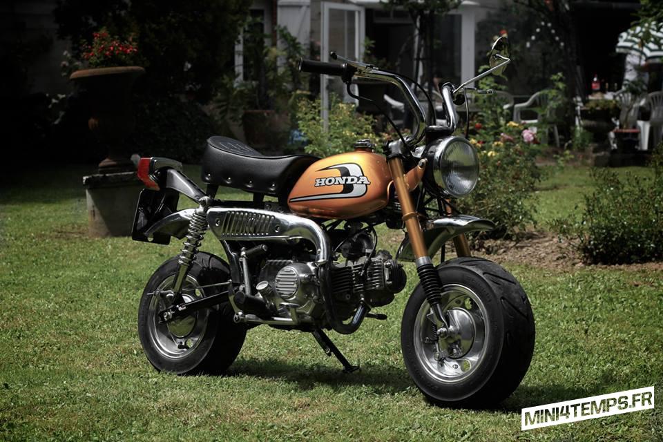 Le Honda Monkey Z50 J1 de Fred - mini4temps.fr