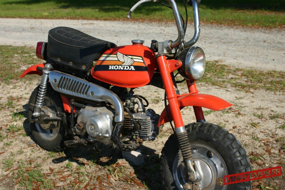 Honda Monkey Z50 Mini-Trail - mini4temps.fr
