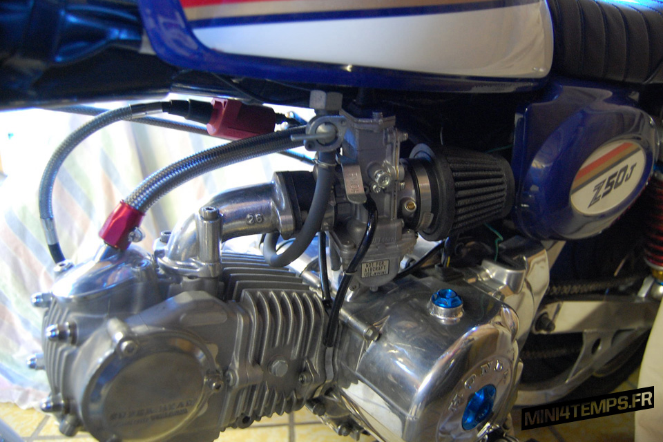 Honda Monkey Z50J Rothman's - mini4temps.fr