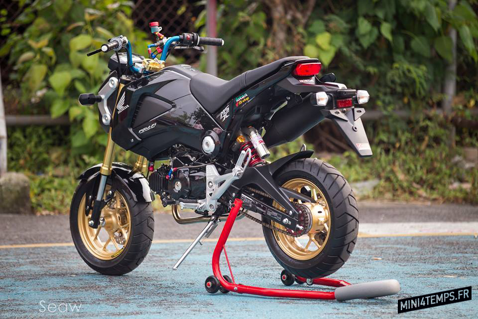 Le Honda MSX 125 de Arm Shop - mini4temps.fr