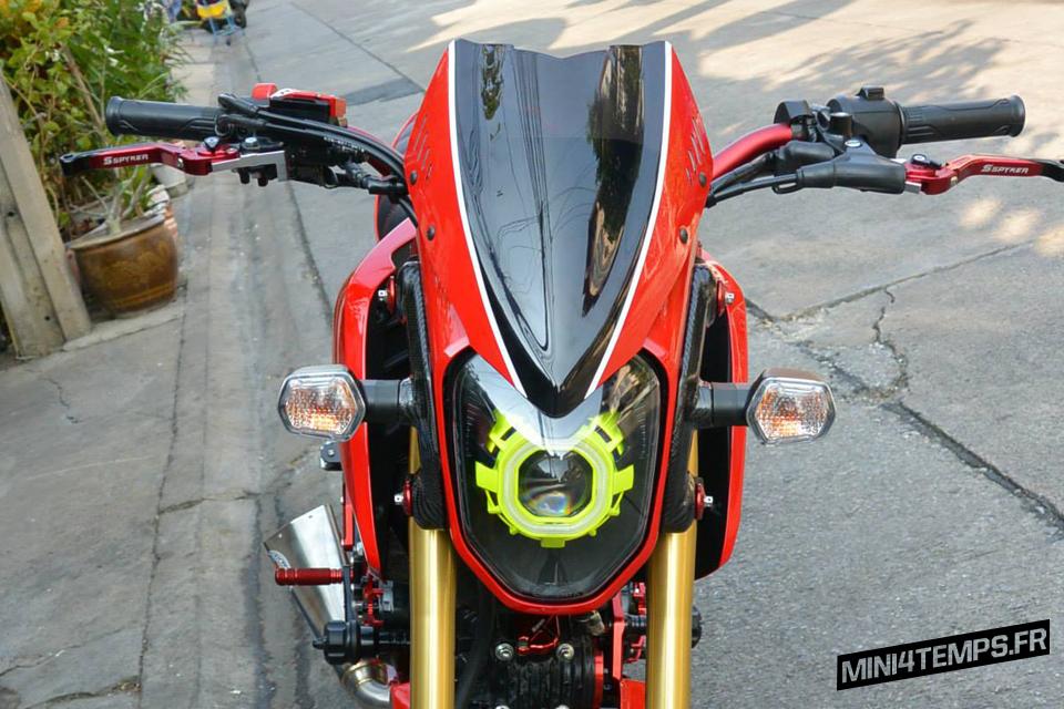 Le Honda MSX 125 / Grom de msx125accessories.com - mini4temps.fr