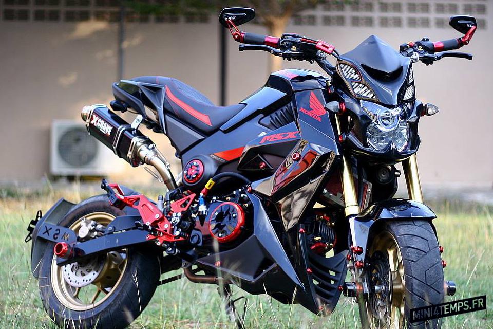 Black Honda MSX 125 by All L Shop Thailand - mini4temps.fr
