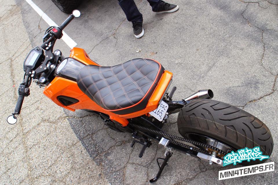 Honda MSX 125 FAT & LOW Orange - mini4temps.fr