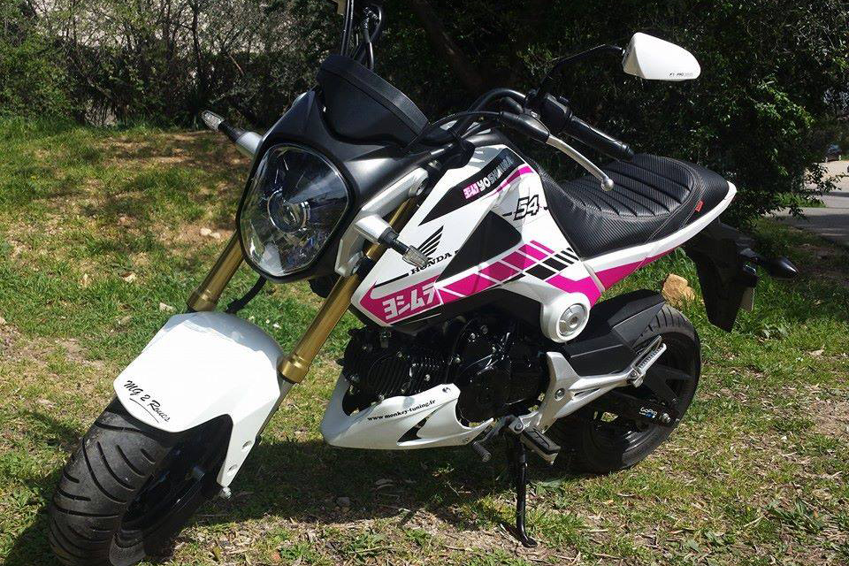 Honda MSX 125 Girly - mini4temps.fr