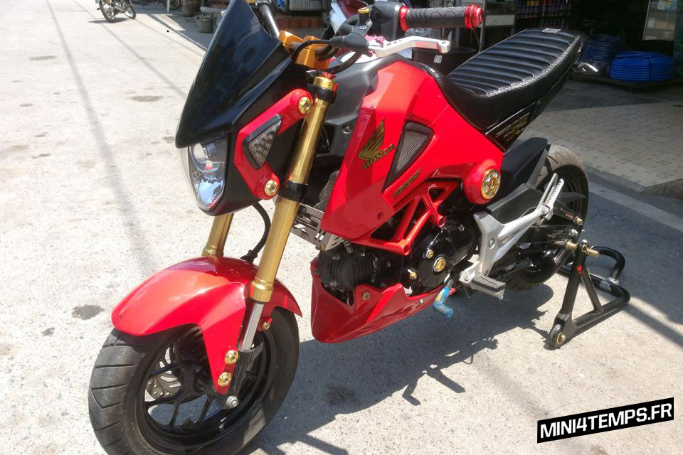 Mini4Temps Honda MSX 125 by Ottao Bike - mini4temps.fr